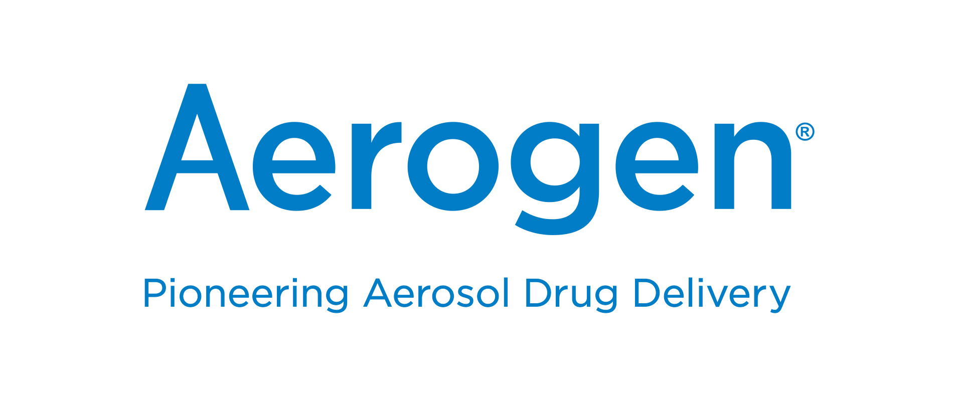 Aerogen logo with strapline