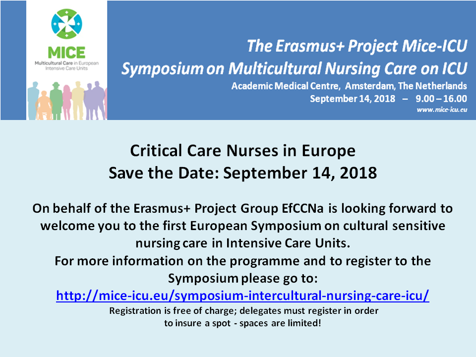 Critical Care Nurses in Europe